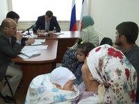 Заур Смирнов провел личный прием граждан